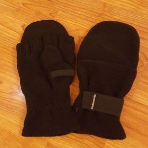 Kathmandu Fingerless gloves with mitten covers